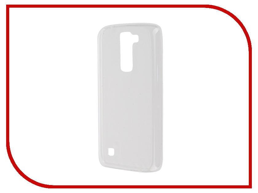 Аксессуар Чехол-накладка LG K7 X210ds Gecko White S-G-LGK7-WH<br>