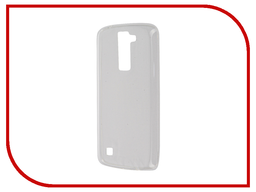 Аксессуар Чехол-накладка LG K8 K350E Gecko White S-G-LGK8-WH чехол для lg k8 k350e gecko flip case черный