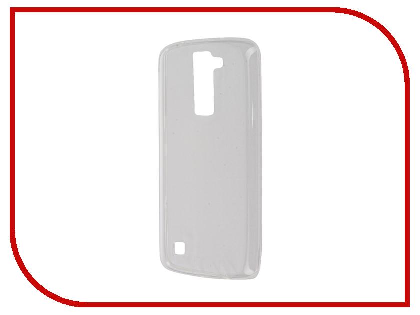 Аксессуар Чехол-накладка LG K8 K350E Gecko White S-G-LGK8-WH цена
