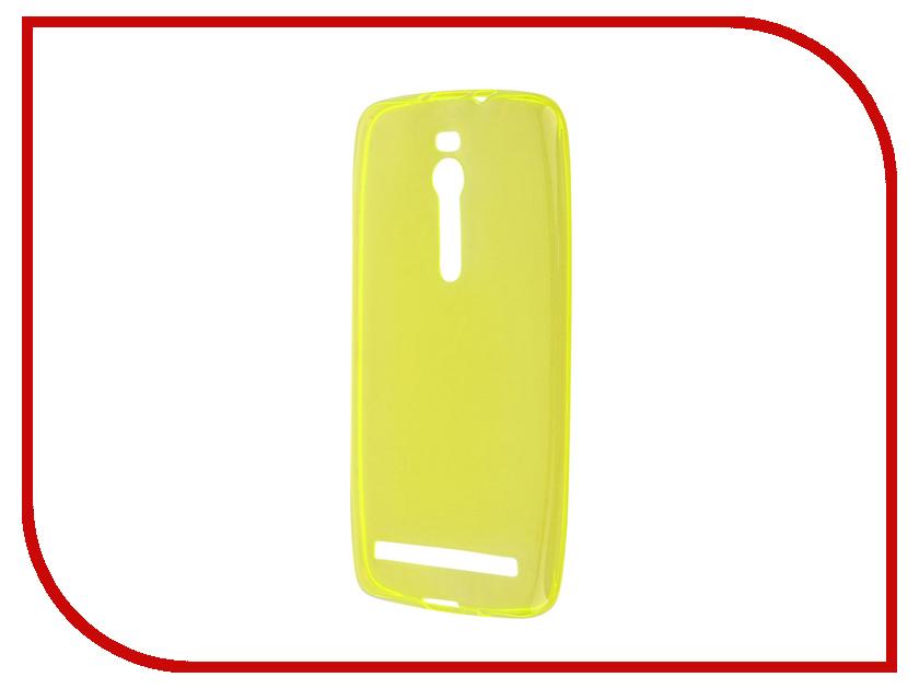 Аксессуар Чехол ASUS ZenFone 2 ZE550ML/ZE551ML Gecko Yellow S-G-ASZE550ML/551ML-YEL<br>