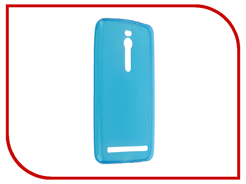 Аксессуар Чехол ASUS ZenFone 2 ZE550ML/ZE551ML Gecko Blue S-G-ASZE550ML/551ML-BLU<br>