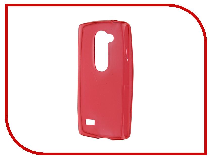 Аксессуар Чехол-накладка LG Leon H324/H340 Gecko Red S-G-LGLEON-RED<br>