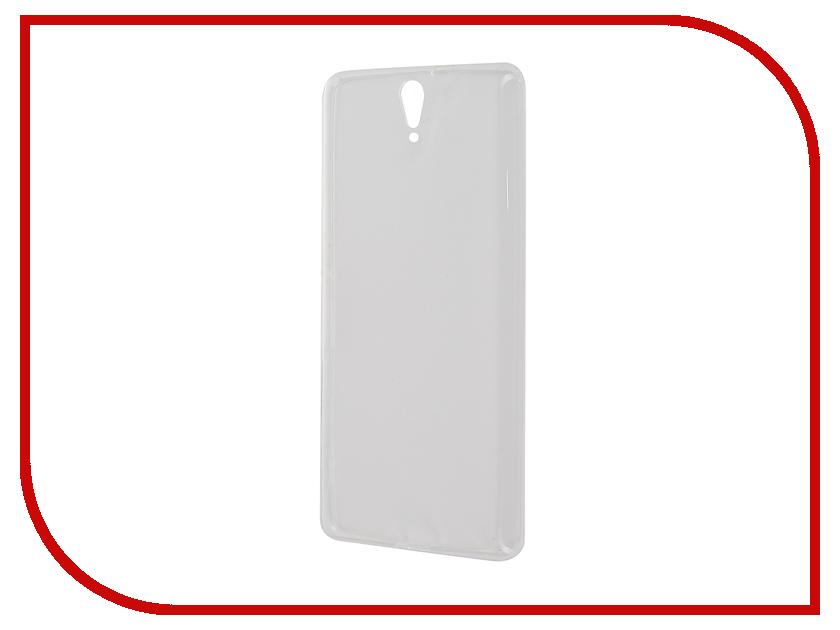 Аксессуар Чехол-накладка Sony Xperia C5 Ultra Dual E5533 Gecko White S-G-SONC5ULTRA-WH<br>