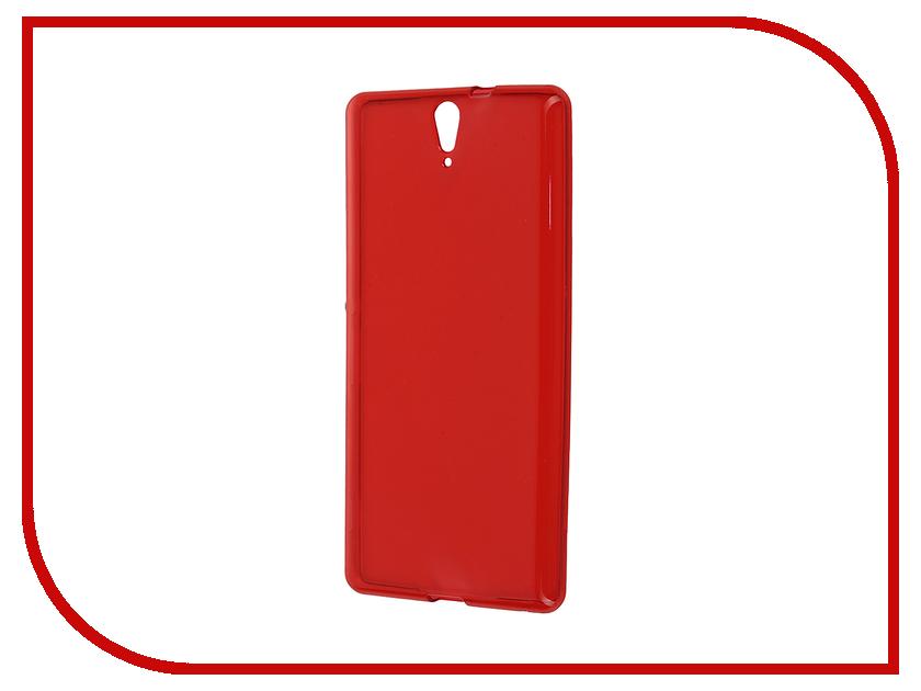 Аксессуар Чехол-накладка Sony Xperia C5 Ultra Dual E5533 Gecko Red S-G-SONC5ULTRA-RED