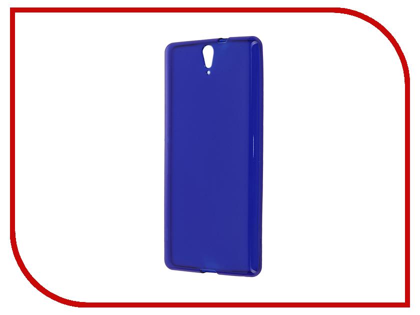 Аксессуар Чехол-накладка Sony Xperia C5 Ultra Dual E5533 Gecko Blue S-G-SONC5ULTRA-DBLU<br>