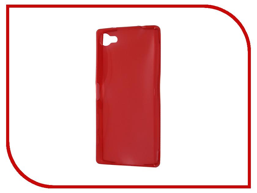 Аксессуар Чехол-накладка Sony Xperia Z5 Compact Gecko Red S-G-SONZ5MINI-RED<br>