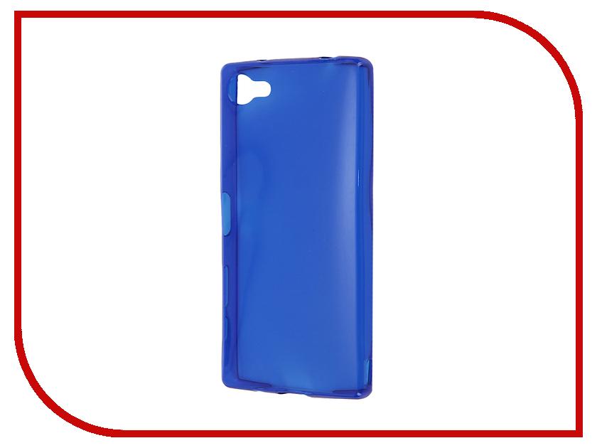 Аксессуар Чехол-накладка Sony Xperia Z5 Compact Gecko Blue S-G-SONZ5MINI-DBLU<br>