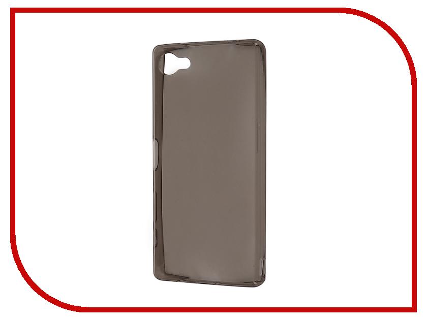 Аксессуар Чехол-накладка Sony Xperia Z5/Z5 Dual E6653/E6683 Gecko Black S-G-SONZ5-BL аксессуар чехол накладка sony xperia z5 compact gecko black s g sonz5mini bl