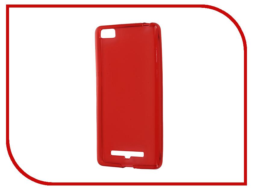 Аксессуар Чехол-накладка Xiaomi Mi4i / Mi4c Gecko Red S-G-XIMI4I-RED