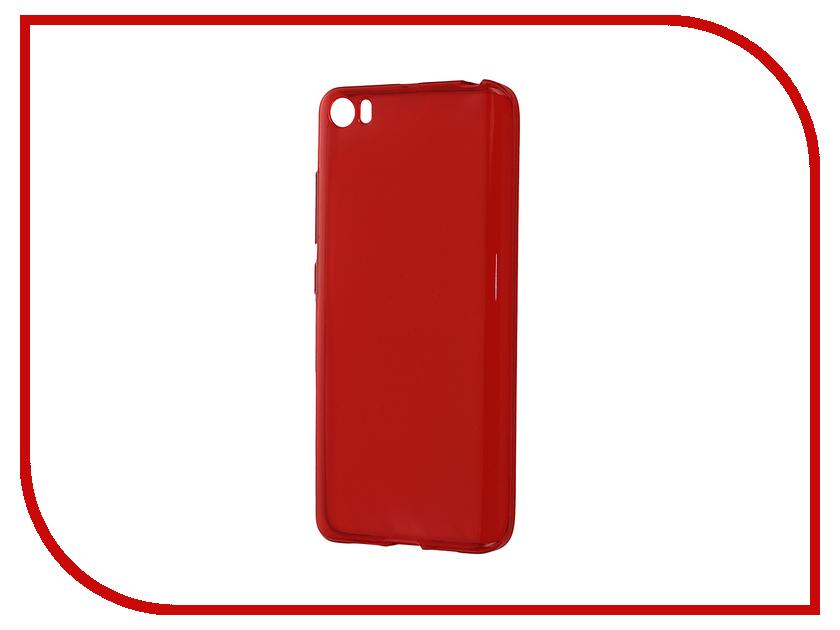 Аксессуар Чехол-накладка Xiaomi Mi5 Gecko Red S-G-XIMI5-RED<br>