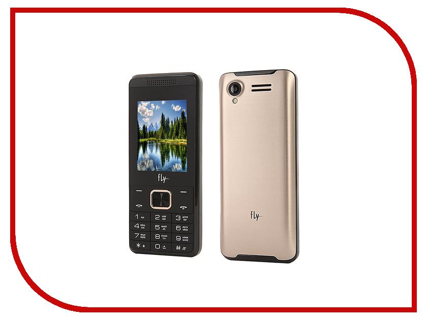 Сотовый телефон Fly FF245 DS Champagne мобильный телефон fly fs458 champagne