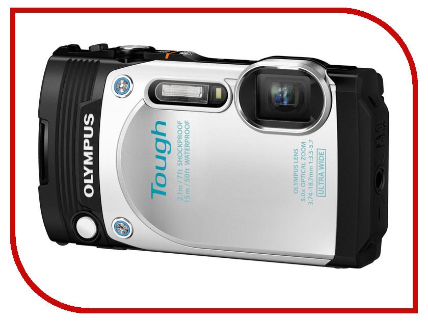 Фотоаппарат Olympus Tough TG-870 White<br>