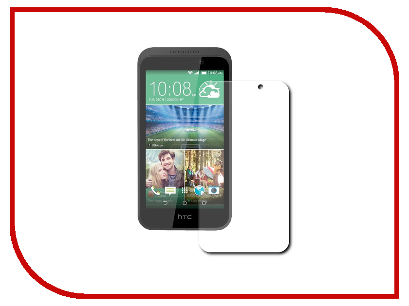 Аксессуар Защитное стекло HTC Desire 320 Gecko 0.26mm ZS26-GHTCD320