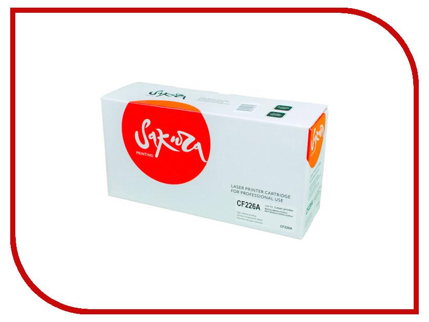 Картридж Sakura CF226A / SACF226A Black для HP LaserJet Pro m402d/402dn/M402n/402dw/MFP M426DW/426fdn/426fdw<br>