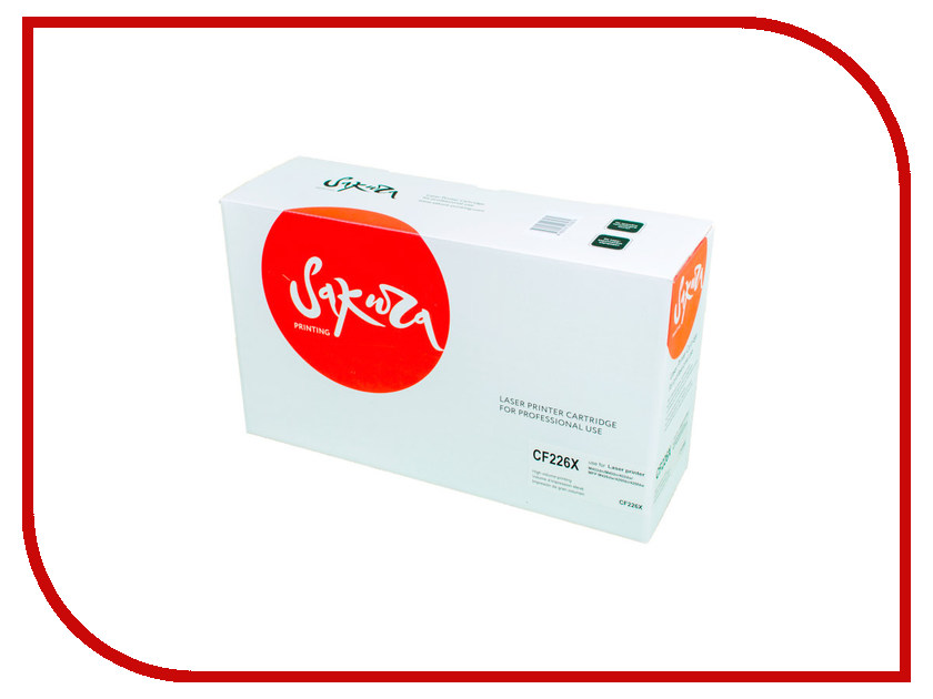 Картридж Sakura SACF226X / CF226X Black для HP LaserJet Pro m402d/402dn/M402n/402dw/MFP M426DW/426fdn/426fdw картридж sakura black для laserjet 4200 4300 4240 4240n 4250 4350 4345 series