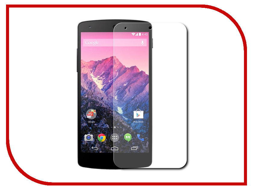 Аксессуар Защитное стекло для LG Nexus 5 D821 Gecko 0.26mm ZS26-GLGD821 original 4 96 inch for lg google nexus 5 d820 d821 lcd display touch screen digitizer sensor glass assembly black 1920 1080