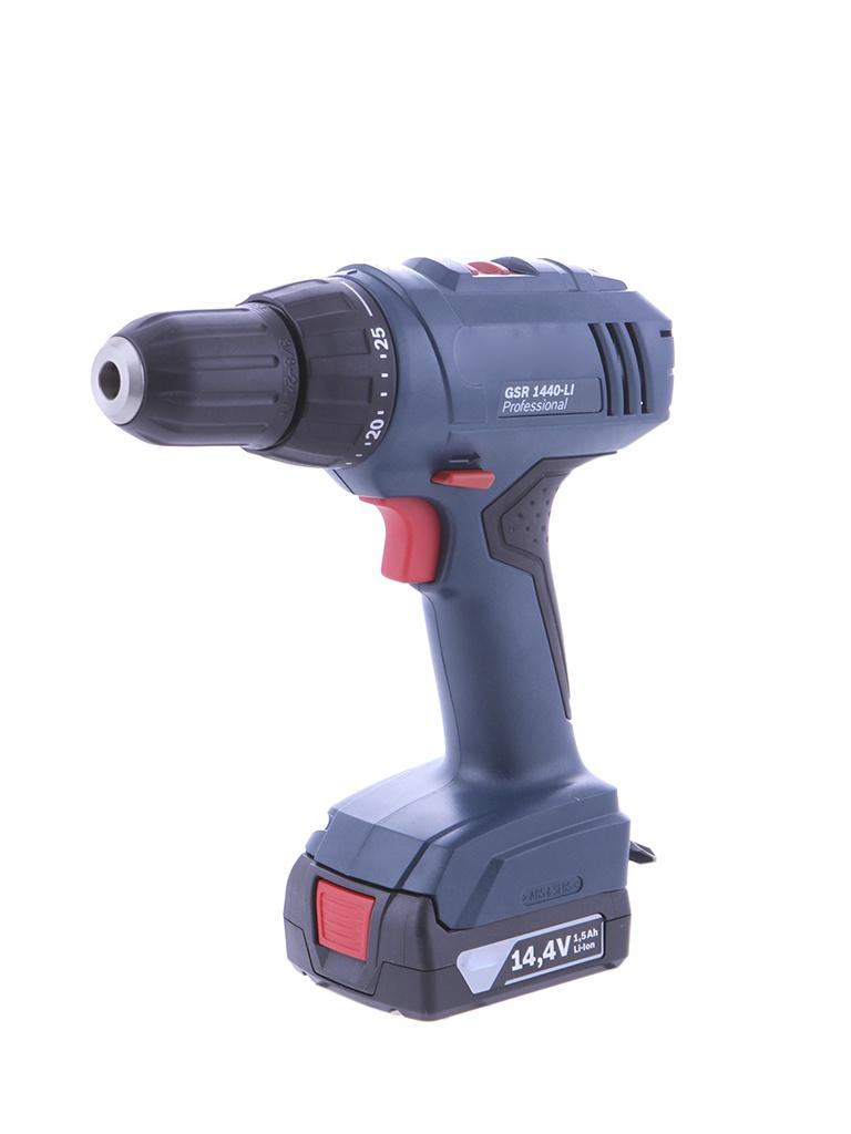 Электроинструмент Bosch GSR 1440-LI 1.5Ah x2 Case 06019A8407