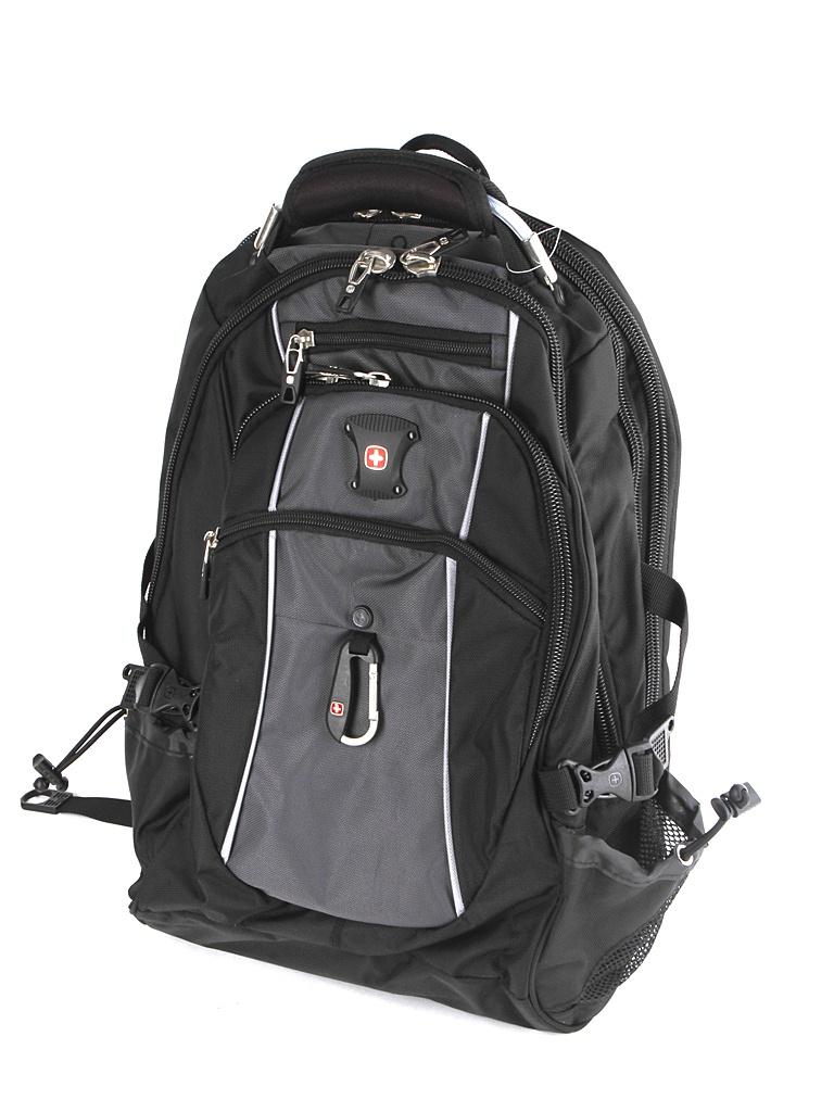 Рюкзак Wenger Black-Grey 6677204410 wenger 17222015 рюкзак black blue