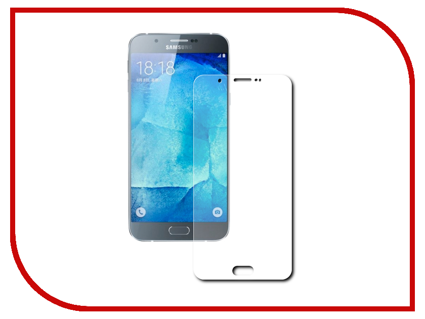 Аксессуар Защитное стекло Samsung A800F Galaxy A8 Gecko 0.26mm ZS26-GSGA8<br>