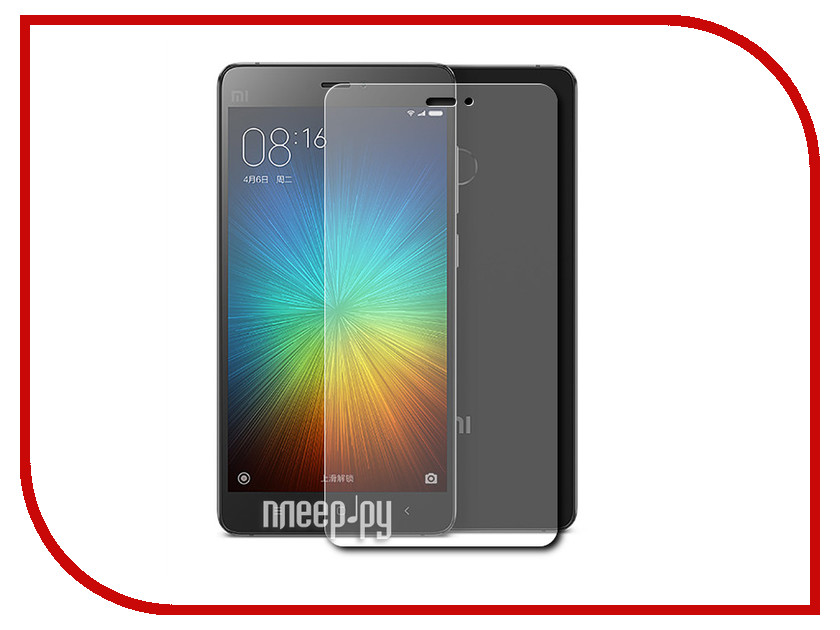 Аксессуар Защитное стекло Xiaomi Mi4 Gecko 0.26mm ZS26-GXMMI4<br>