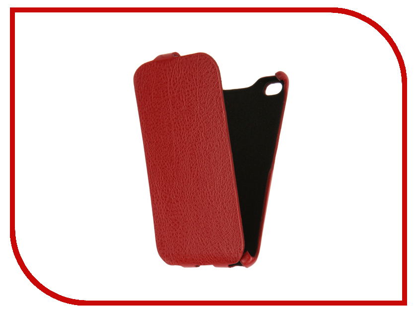 Аксессуар Чехол Xiaomi Mi4c Cojess Ultra Slim Red<br>