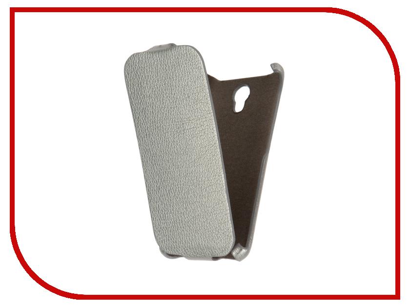 Аксессуар Чехол Xiaomi Mi4 Cojess Ultra Slim Silver<br>