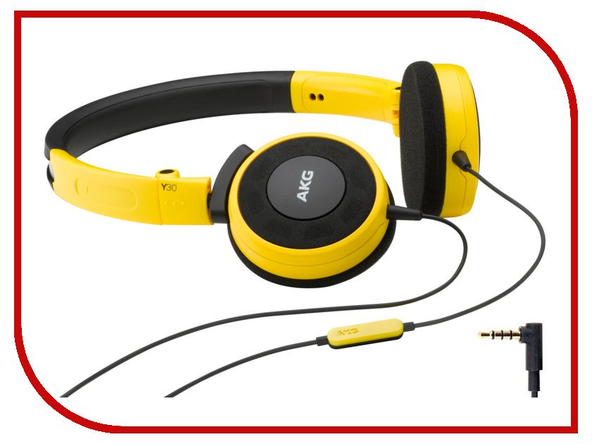 Гарнитура AKG Y 30U Yellow<br>