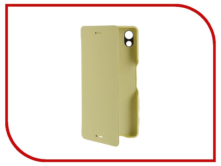 Аксессуар Чехол Sony Xperia X SCR52 Lime Gold