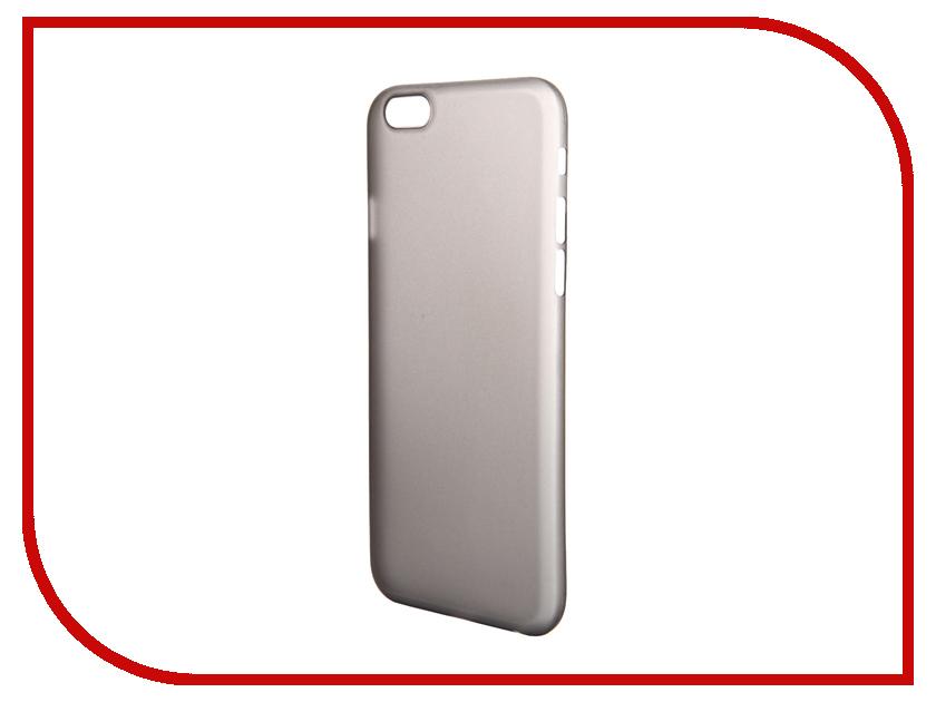 Аксессуар Чехол-накладка BROSCO Superslim для iPhone 6 / 6S Black IP6-PP-SUPERSLIM-BLACK<br>