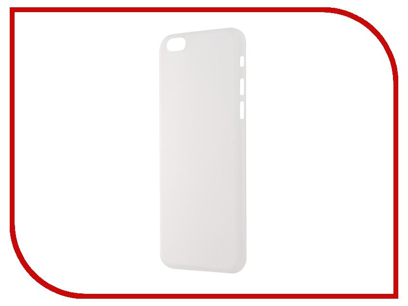 Аксессуар Чехол-накладка BROSCO Superslim для iPhone 6 / 6S White IP6-PP-SUPERSLIM-WHITE<br>
