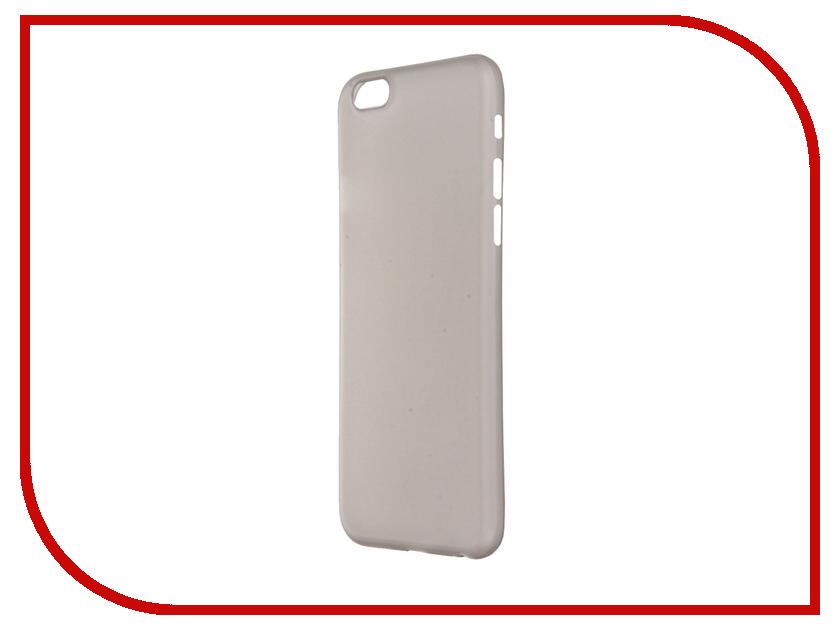 Аксессуар Чехол-накладка BROSCO Superslim для iPhone 6 / 6S Grey IP6-PP-SUPERSLIM-GREY