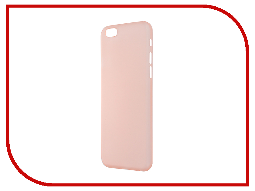 Аксессуар Чехол-накладка BROSCO Superslim для iPhone 6 / 6S Rose Gold IP6-PP-SUPERSLIM-ROSEGOLD<br>