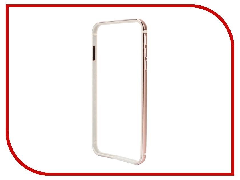 Аксессуар Чехол-бампер BROSCO для iPhone 6 / 6S Rose Gold IP6-BUMPER-ROSEGOLD<br>