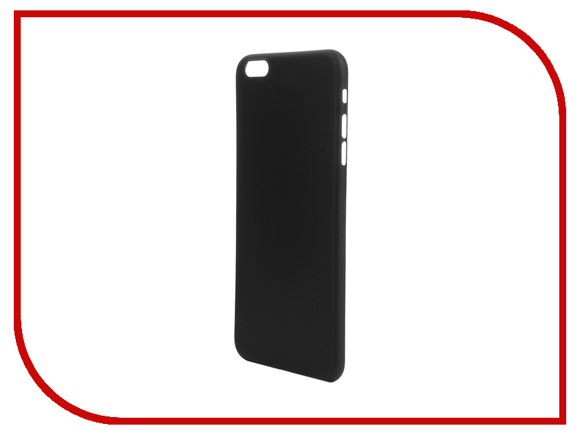 Аксессуар Чехол-накладка BROSCO Superslim для iPhone 6 Plus Black IP6P-PP-SUPERSLIM-BLACK