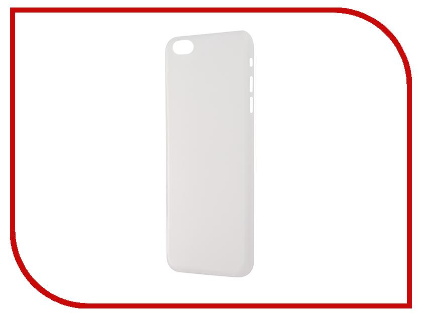 Аксессуар Чехол-накладка BROSCO Superslim для iPhone 6 Plus White IP6P-PP-SUPERSLIM-WHITE<br>