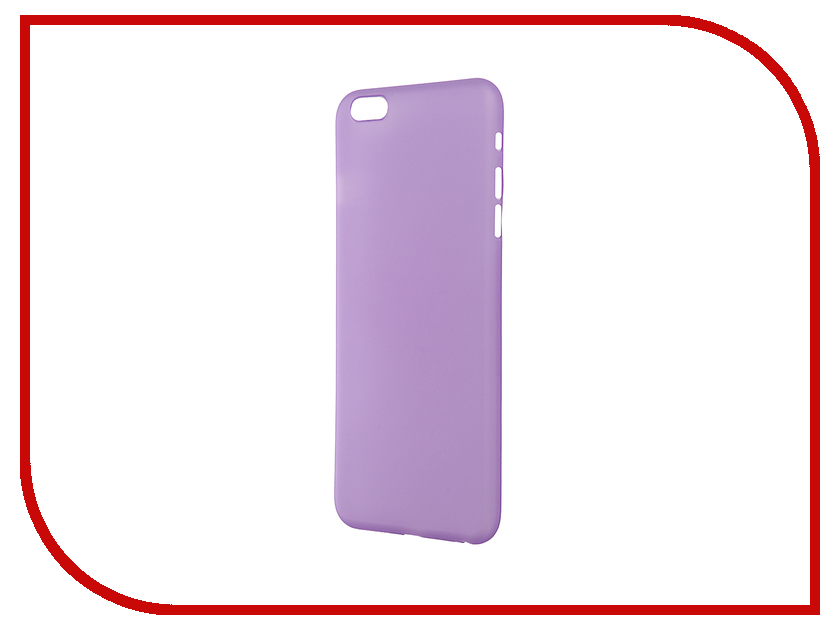 Аксессуар Чехол-накладка BROSCO Superslim для iPhone 6 Plus Purple IP6P-PP-SUPERSLIM-PURPLE<br>