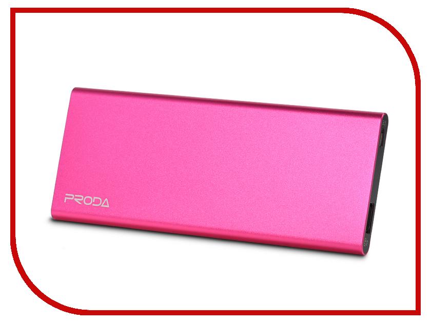 Аккумулятор Remax Proda Vangurad PP-V08 8000 mAh Pink<br>