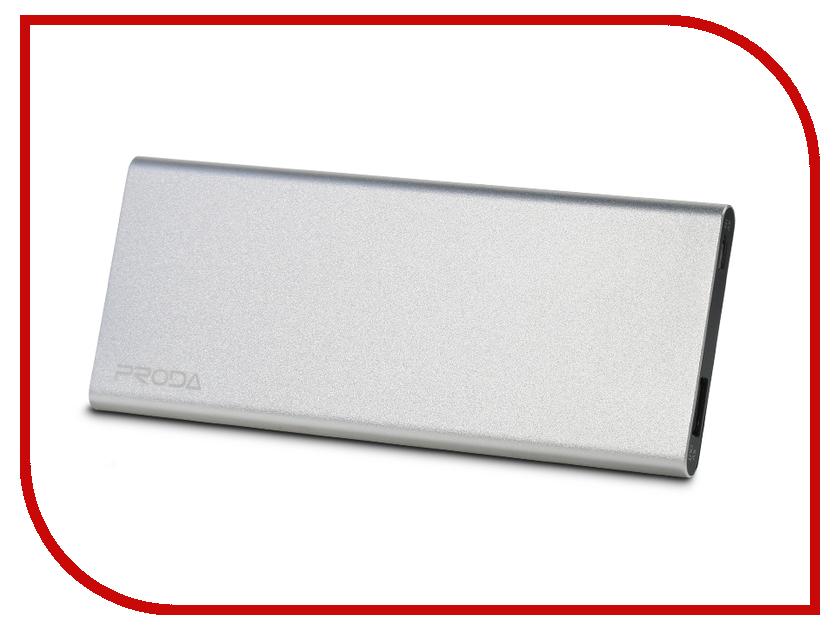 Аккумулятор Remax Proda Vangurad PP-V08 8000 mAh Silver<br>