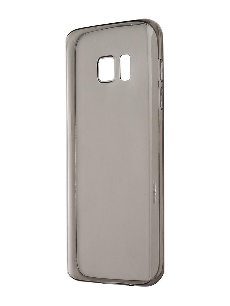 Аксессуар Чехол-накладка Brosco для Samsung Galaxy S7 Black SS-S7-TPU-BLACK аксессуар чехол with love moscow samsung galaxy j7 2017 кожаный black 10207