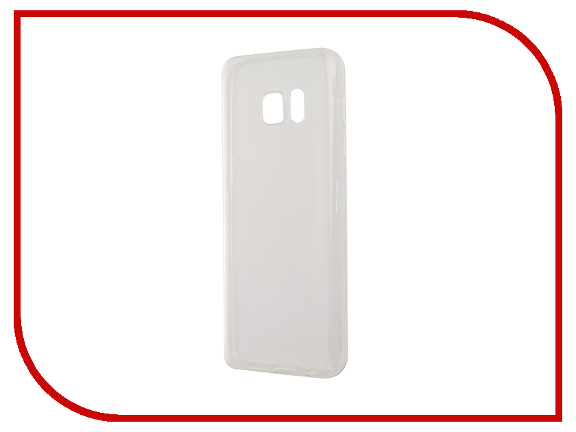 Аксессуар Чехол-накладка Samsung Galaxy S7 BROSCO Transparent SS-S7-TPU-TRANSPARENT<br>
