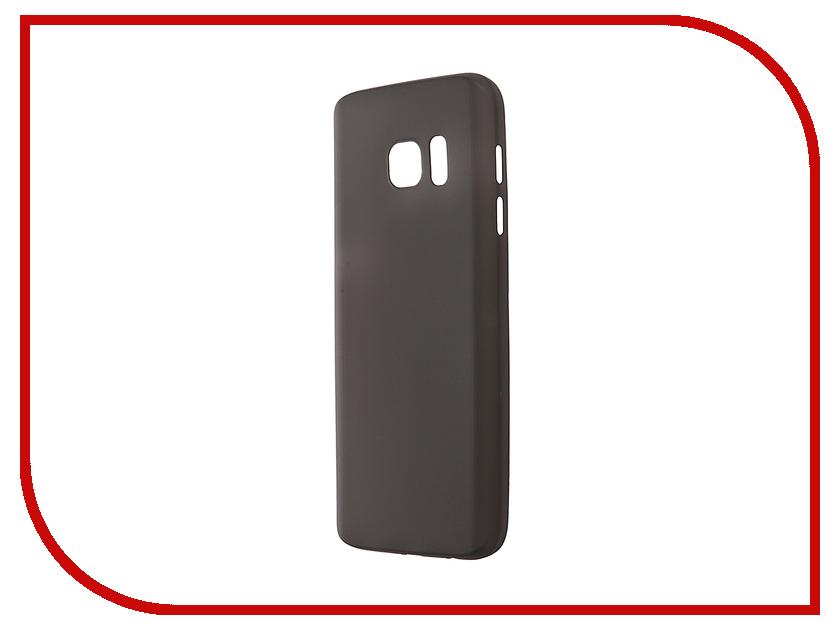 Аксессуар Чехол-накладка Samsung Galaxy S7 BROSCO Superslim Black SS-S7-PP-SUPERSLIM-BLACK варочная панель электрическая electrolux ehh6340fok черный