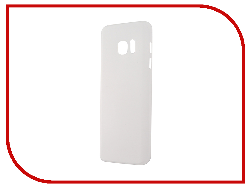 Аксессуар Чехол-накладка Samsung Galaxy S7 BROSCO Superslim White SS-S7-PP-SUPERSLIM-WHITE<br>