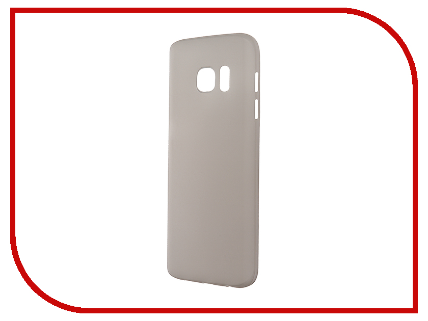 Аксессуар Чехол-накладка Samsung Galaxy S7 BROSCO Superslim Grey SS-S7-PP-SUPERSLIM-GREY<br>