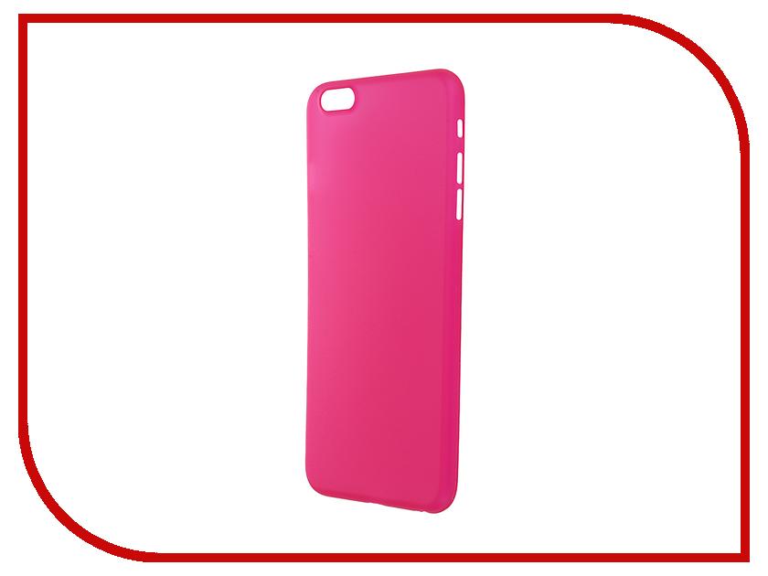 Аксессуар Чехол-накладка BROSCO Superslim для iPhone 6 / 6S Plus Crimson IP6P-PP-SUPERSLIM-MALIN<br>