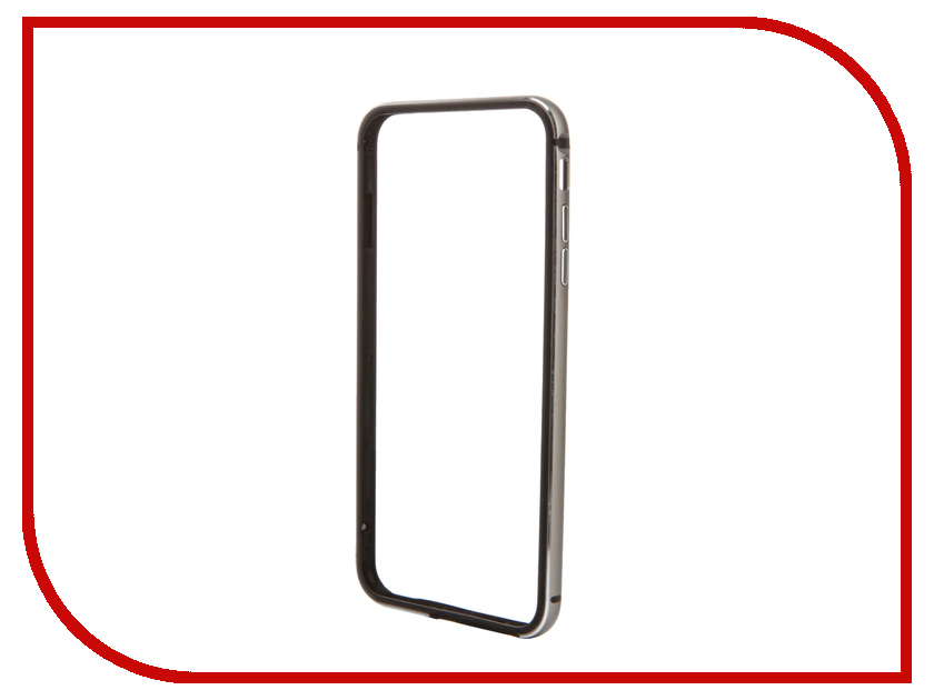 ��������� �����-������ BROSCO ��� iPhone 6 / 6S Plus Grey IP6P-BUMPER-SPACEGREY