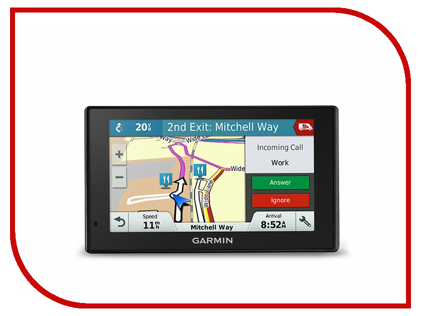 Навигатор Garmin DriveAssist 50LMT Europe 010-01541-11<br>