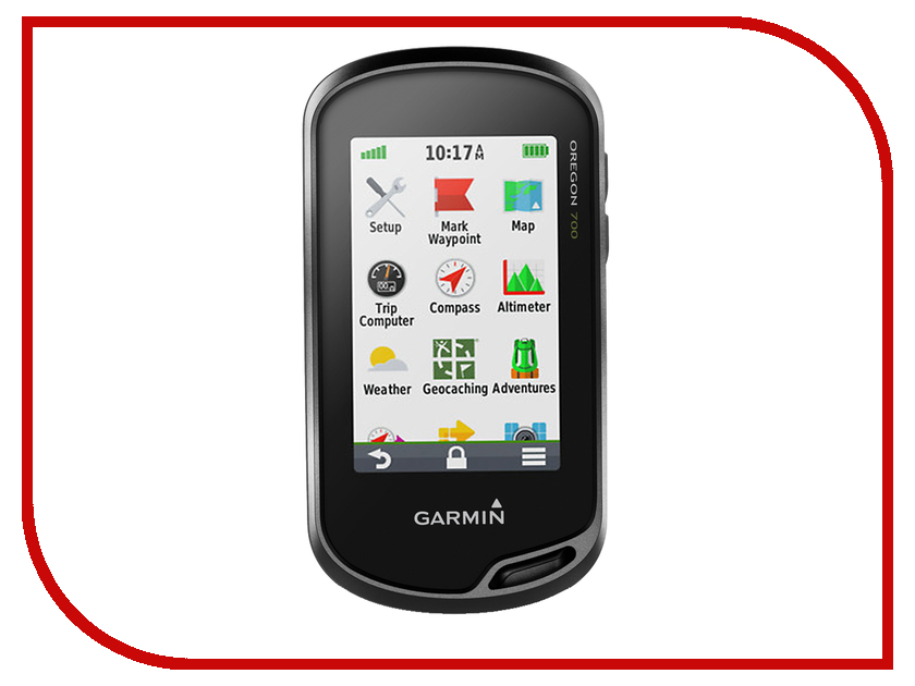 GPS-туристический Garmin Oregon 700t Topo Russia 010-01672-10<br>