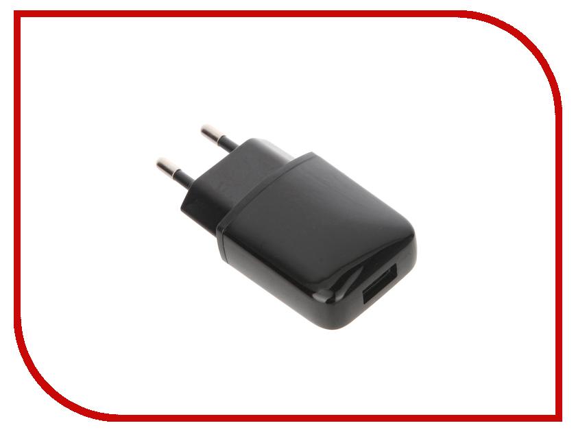 Зарядное устройство OLMIO USB 1А Black ПР033921<br>