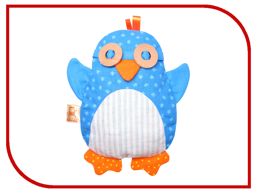 Игрушка-грелка Мякиши Пингвин 338