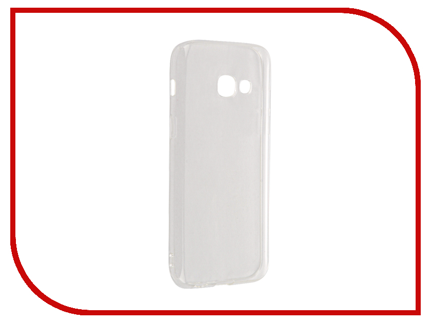 Аксессуар Чехол Samsung Galaxy A3 (2017) DF sCase-38 аксессуар чехол samsung galaxy a3 2017 cojess tpu 0 3mm transparent